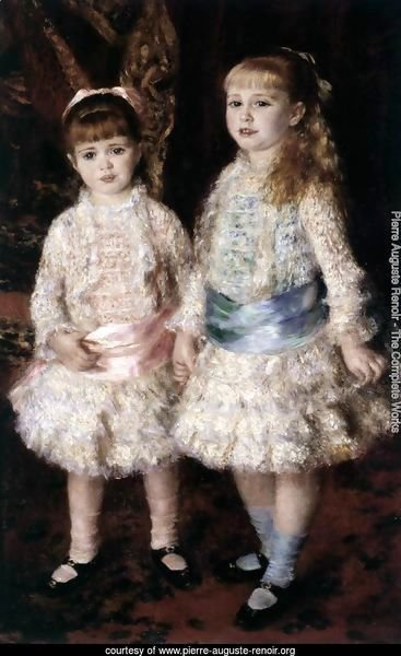 Pink and Blue (Alice and Elisabeth Cahen d'Anvers)