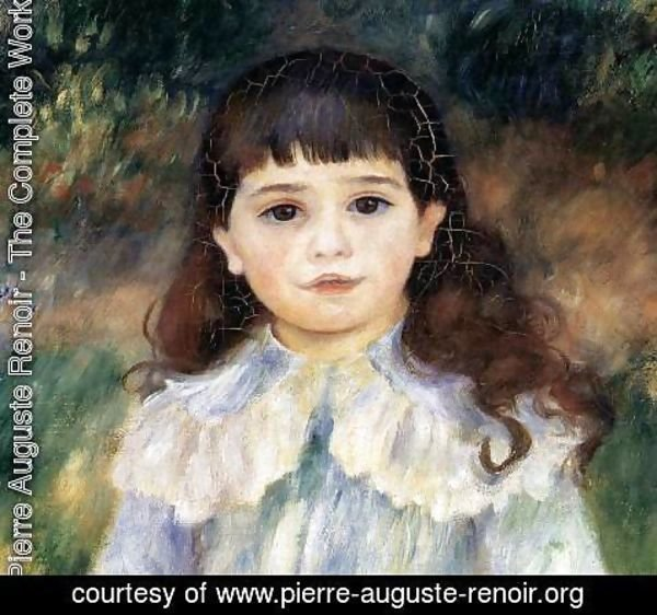 Pierre Auguste Renoir - Child with a Whip (detail)