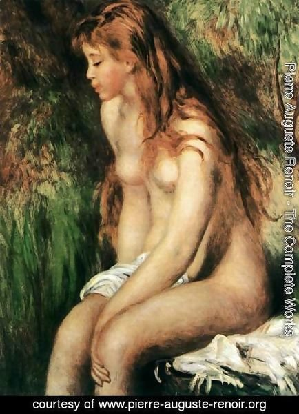 Pierre Auguste Renoir - Seated Bather 3