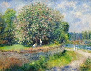 Pierre Auguste Renoir - Chestnut Tree in Bloom