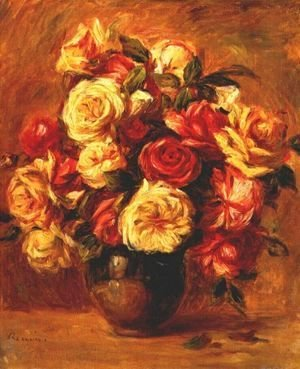Pierre Auguste Renoir - Bouquet of Roses 2