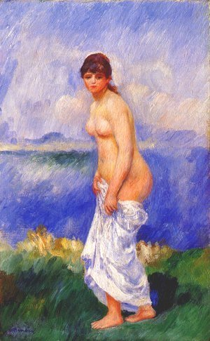 Pierre Auguste Renoir - Standing bather 2