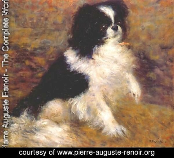 Pierre Auguste Renoir - Tama the japanese dog