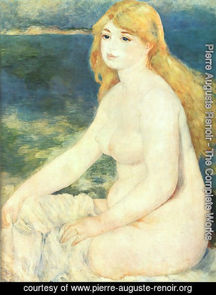 Pierre Auguste Renoir - Blond Bather