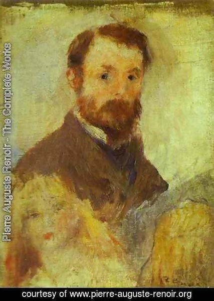 Pierre Auguste Renoir - Self-Portrait 4