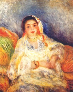 Pierre Auguste Renoir - Algerian woman seated