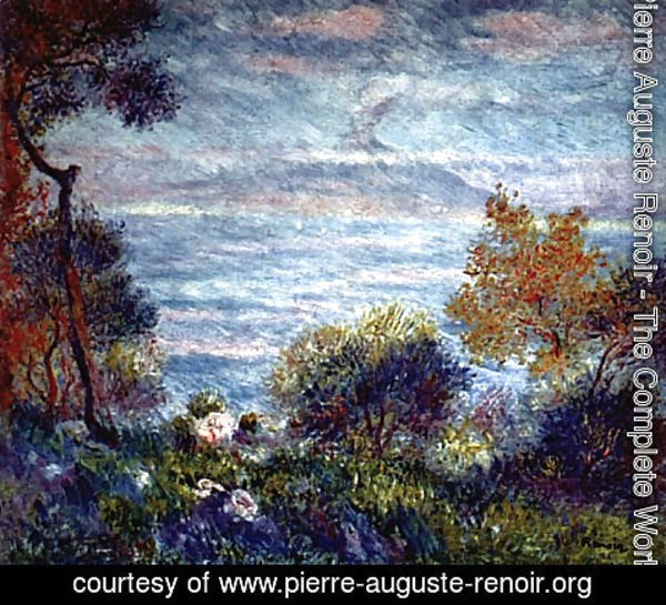 Pierre Auguste Renoir - The head of Monte Sorrento