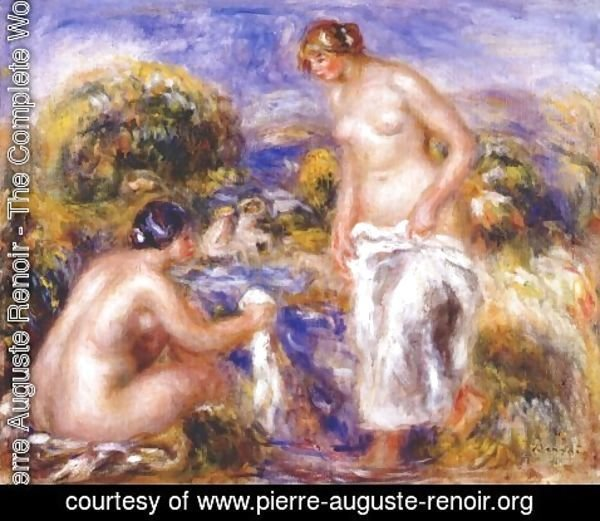 Pierre Auguste Renoir - Women bathing