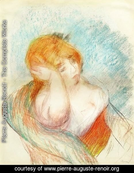 Pierre Auguste Renoir - Seated Woman 3