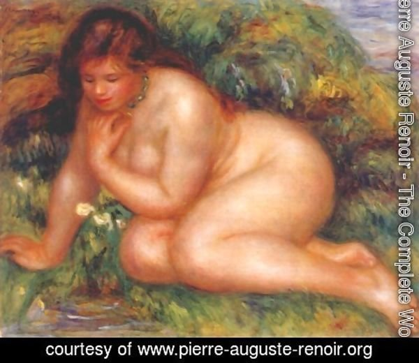 Pierre Auguste Renoir - Bather Admiring Herself in the Water