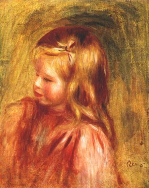 Pierre Auguste Renoir - Portrait of coco 3