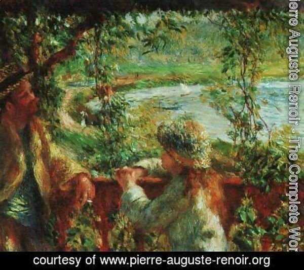 Pierre Auguste Renoir - Near lake