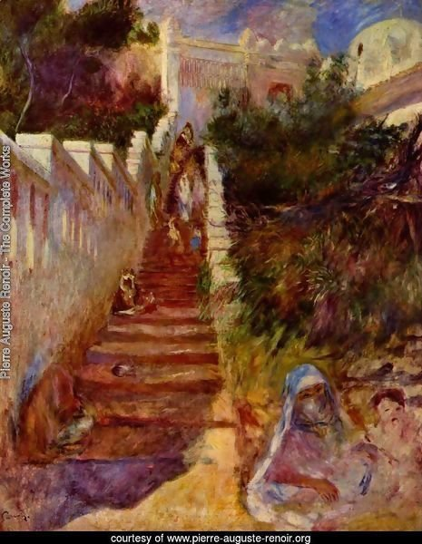 Steps in Algiers
