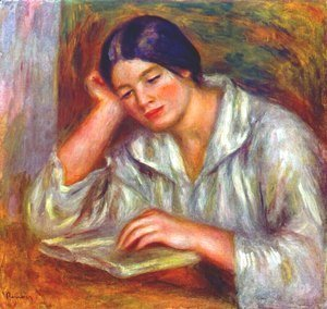 Pierre Auguste Renoir - Woman in white