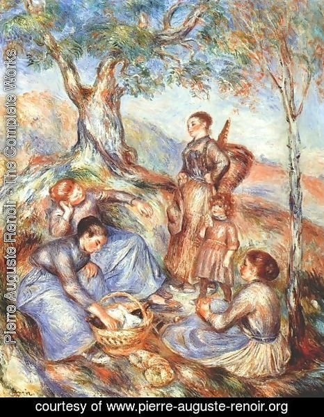 Pierre Auguste Renoir - The grape pickers at lunch