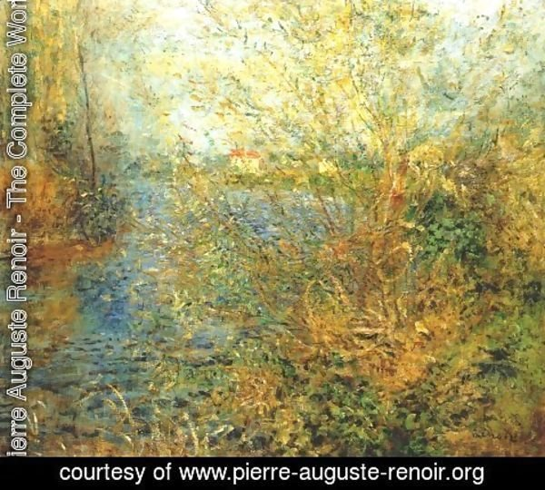 Pierre Auguste Renoir - The Seine at Argenteuil 2