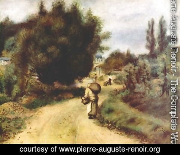 Pierre Auguste Renoir - On the river banks