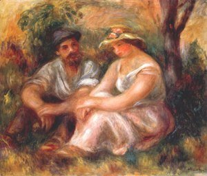 Pierre Auguste Renoir - Seated couple