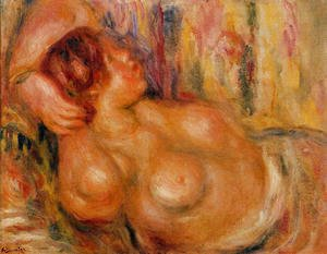 Pierre Auguste Renoir - Woman At the Chest