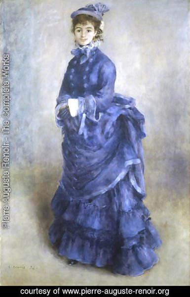 Pierre Auguste Renoir - The Blue Lady