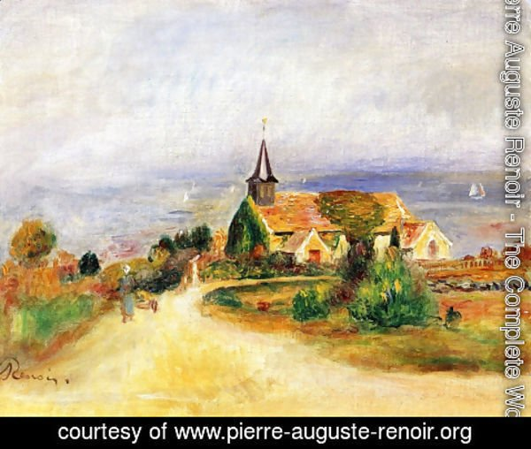 Pierre Auguste Renoir - Village by the Sea