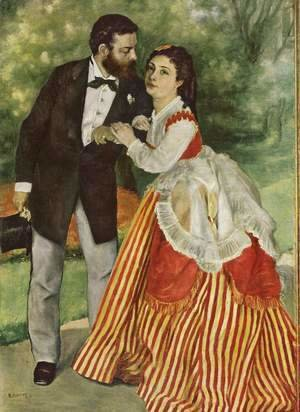 Portrait of the couple Sisley