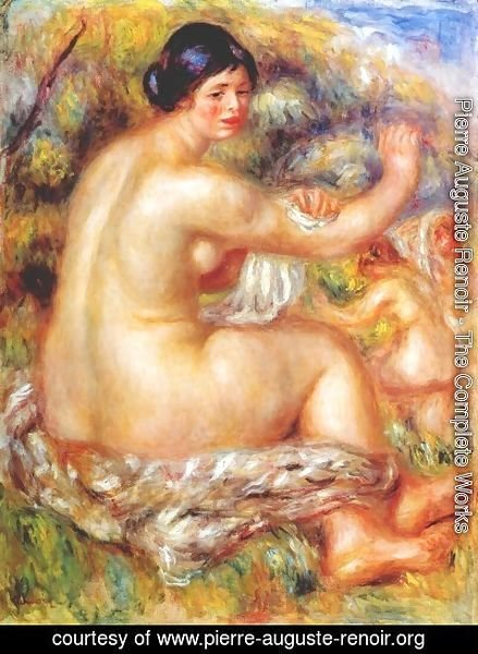 Pierre Auguste Renoir - After the bath 2