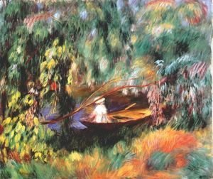 Pierre Auguste Renoir - The skiff