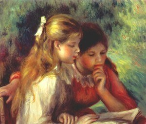 Pierre Auguste Renoir - The reading 2