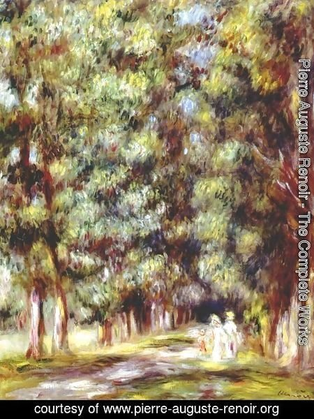 Pierre Auguste Renoir - Path through the undergrowth