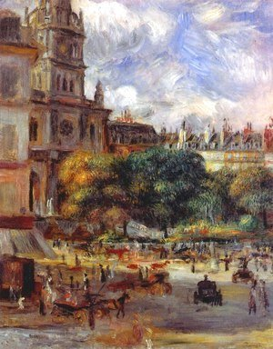 Pierre Auguste Renoir - Church of the Holy Trinity in Paris