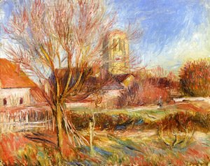 Pierre Auguste Renoir - The Church at Essoyes