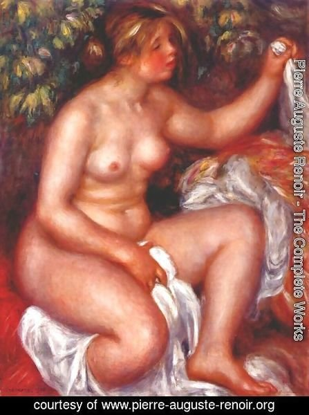 Pierre Auguste Renoir - After the bath 3