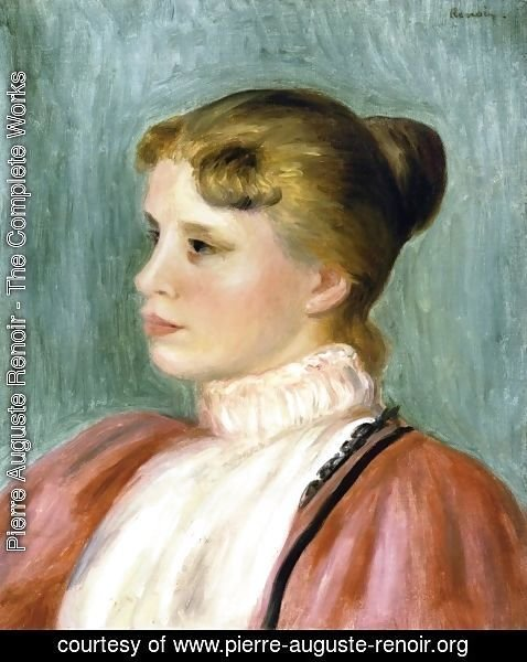 Pierre Auguste Renoir - Portrait of a Woman 4