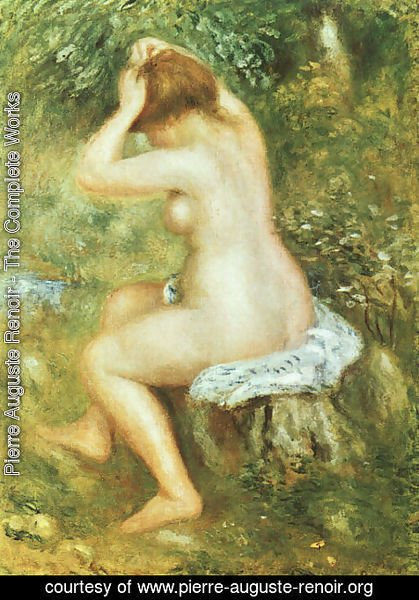 Pierre Auguste Renoir - Bather is Styling