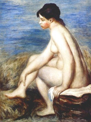 Pierre Auguste Renoir - Bather 3