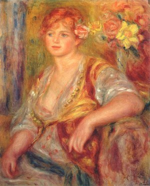 Pierre Auguste Renoir - Dedee in spanish dress