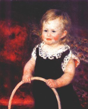 Pierre Auguste Renoir - Child with a hoop