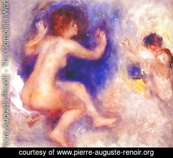 Pierre Auguste Renoir - Study for scene from tannhauser