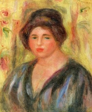 Pierre Auguste Renoir - Woman's Head