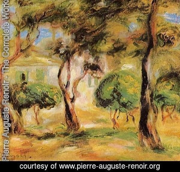 Pierre Auguste Renoir - The Garden Collettes