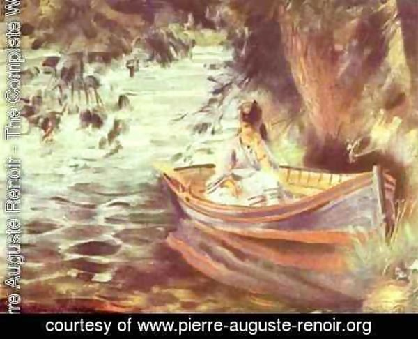 Pierre Auguste Renoir - Woman in a Boat