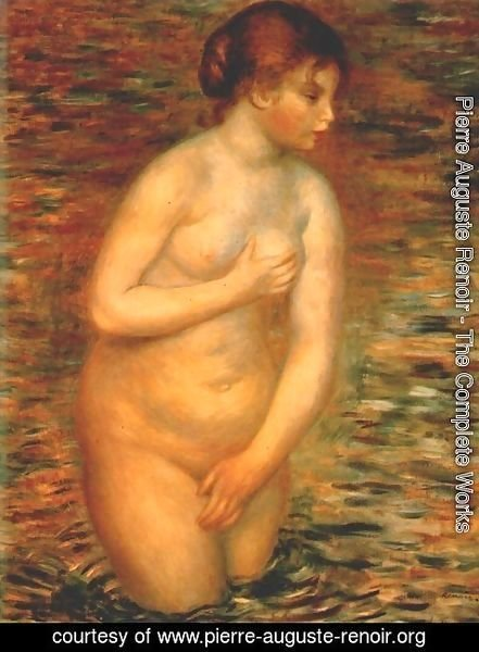 Pierre Auguste Renoir - Nude in the water