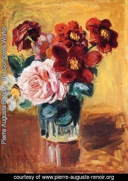 Pierre Auguste Renoir The Complete Works Flowers In A Vase 3