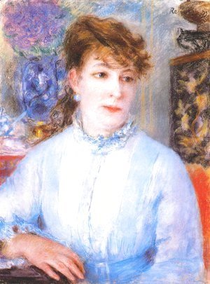 Pierre Auguste Renoir - Portrait of a Woman 5
