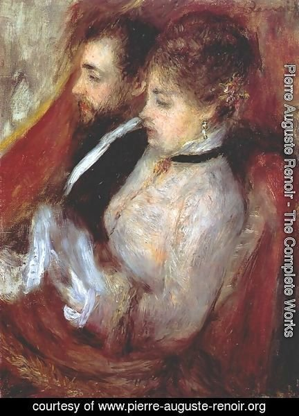 Pierre Auguste Renoir - The little theater box