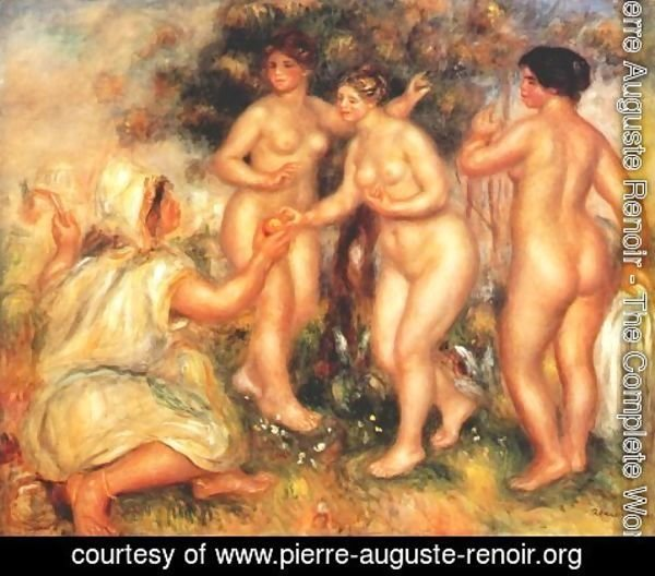 Pierre Auguste Renoir - The judgment of Paris