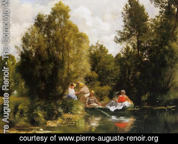 Pierre Auguste Renoir - The Fairies Pond