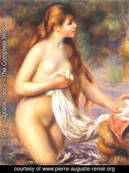 Pierre Auguste Renoir - Bather 5