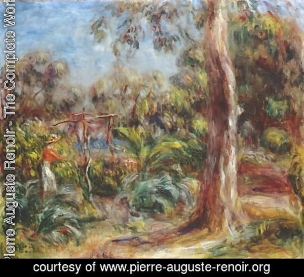 Pierre Auguste Renoir - The large tree
